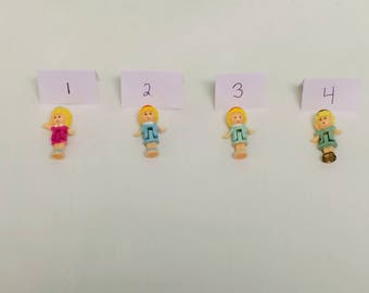 Vintage Polly Pocket, Polly Pocket Dolls, Bluebird Toys, 1990s Polly, Single Dolls, Vintage Girl Toys, Choose One, Miniature Dolls, 1980s