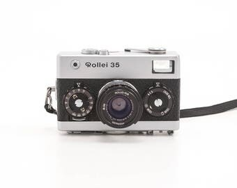 ROLLEI 35 - Silver Body 35mm Rangefinder Film Camera - Made In Germany by Rollei Rollei Honeywell