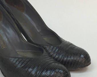 1940s Shoes / 40s vintage Pumps