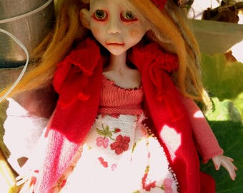 Anouk/ doll/polymer clay/clay/art doll