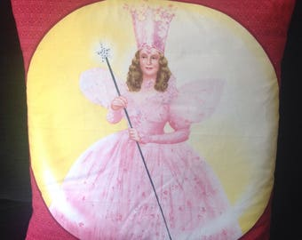 Wizard of Oz Glenda the good Witch Cushion