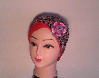 Hat reversible, stretchy, liberty, season, summer, girls or women, chemo