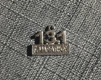 13.1 Half Marathon charm