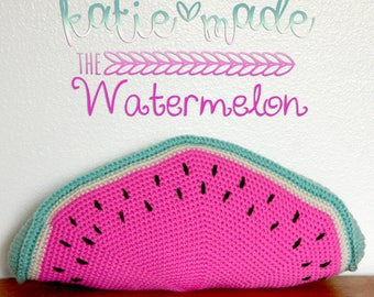 The Watermelon Pillow