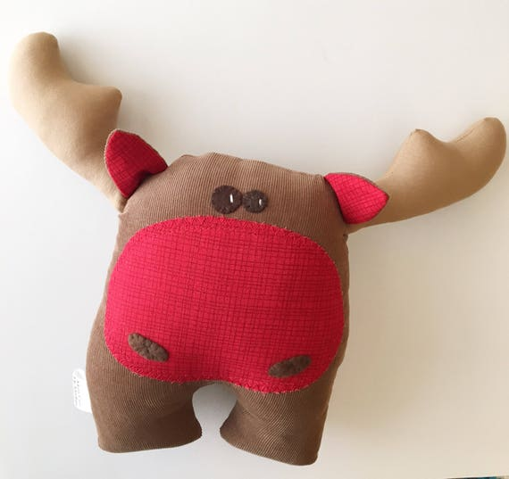 Handmade Moose Softie