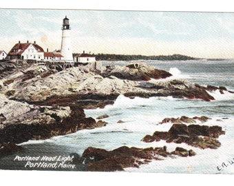 Portland Maine Vintage Postcard