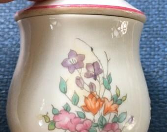 Elizabeth Arden  Porcelain Floral Candle