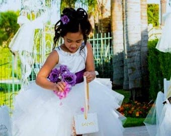 Limited Edition Hi Low Flower Girl Princess Dress
