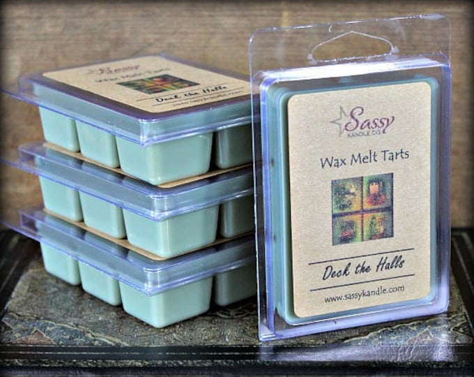 DECK THE HALLS | Wax Melt Tart | Sassy Kandle Co.