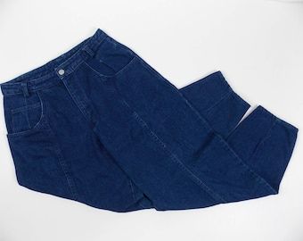 Gotcha Covered High Waist Jeans Baggy Fit Tapered Leg 100% Cotton