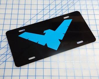 Nightwing Custom License Plate