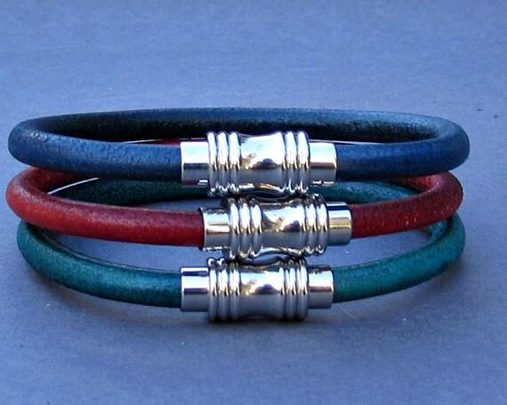 Stainless Steel Bracelet, Leather Bracelet For Men, For Husband,  For Boyfriend, For Him, Boyfriend Gift, Gift,  Men's Bracelet,  Mens Gift