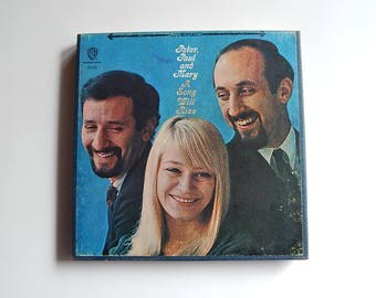 Peter Paul and Mary 4 Track Reel to Reel Tape A Song Will Rise 1589 Folk Music 1960's