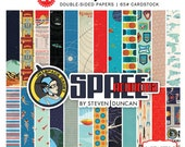 Carta Bella SPACE ACADEMY 6x6 Scrapbook Paper Pad