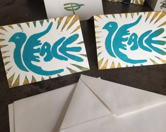 Peace Dove Holiday Card 10-pack