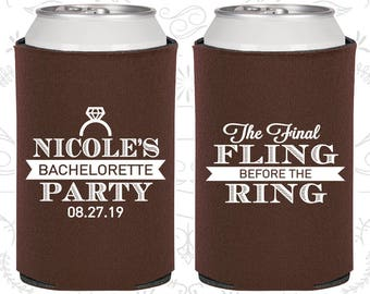 The Final Fling Before the Ring, Bachelorette Party Gifts, Ring Bling, Bachelorette Ideas (60110)