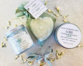 Gift Sets For Women by Santa Barbara Aromatics | Personalized Gift for Women | Gift for Mom | Bridesmaid Gift | Essential Oil Candles