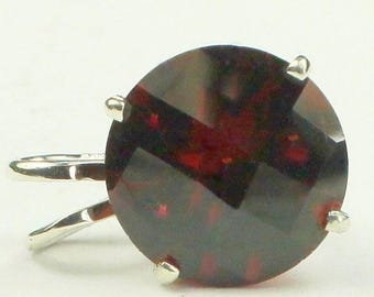 On Sale, 30% Off, Mozambique Garnet, 925 Sterling Silver Pendant, SP089