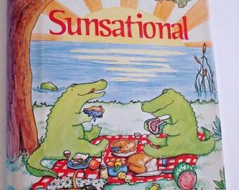 1982 FLORIDA Sunsational COOKBOOK Orlando/Winter Park FL Junior League Spiral Bound 1st Ed Community Recipes Illustrated Fun Gift Book
