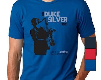 Duke Silver T-Shirt   Ron Swanson   Parks and Rec   Duke Silver Trio Shirt