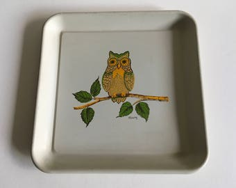 Vintage Metal Tray, Maxey.