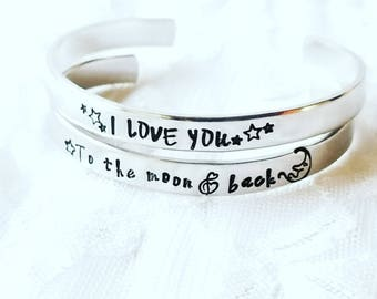 Cuff Bracelet For Women, Skinny Cuff, Hand Stamped Cuff, Personalized Cuff, Inspiration Cuff, Personalized Gift, Encouragement Gift, Heart