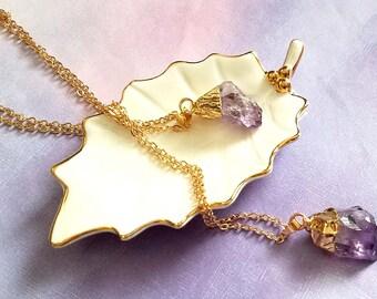 amethyst pendant, amethyst gemstone necklace, purple amethyst necklace, amethyst jewelry, amethyst crystal, amethyst nugget, amethyst,