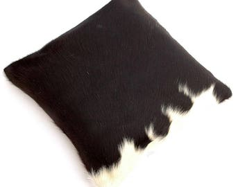 Natural Cowhide Luxurious Hair On Cushion/ Pillow Cover (15''x 15'') A83