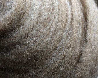 OOAK Fawn Corriedale & Tassah Silk Blend Bumps