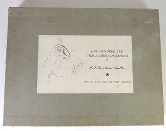 One Hundred Ten Unpublished Drawings by H. de Toulouse Lautrec First Edition 1955 #29