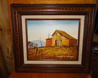 Everett Woodson Original Oil Painting On Canvas..... So Beautiful