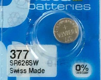 Renata Watch Battery #377 (SR626SW)
