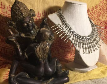 Gypsy Indian Bib Necklace from New Delhi