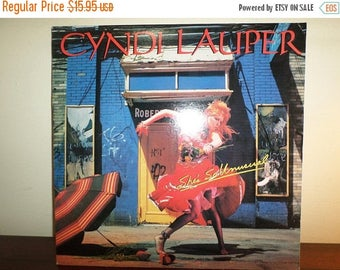 Save 30% Today Vintage 1983 Vinyl LP Record Cyndi Lauper She's So Unusual Near Mint Condition 11393