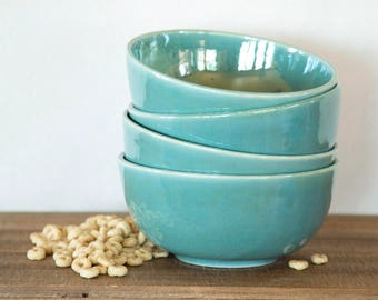 Handmade Morning Cereal Bowls