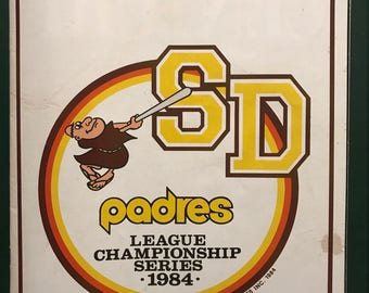 1984 League Championship Series Program
