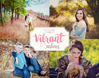 75% OFF! - Vibrant Actions {27 Photoshop Actions for CS5, CS6 and CC}