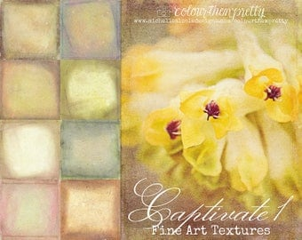 50% OFF! Captivate 1 {Fine Art Textures} Texture Overlays and Backgrounds
