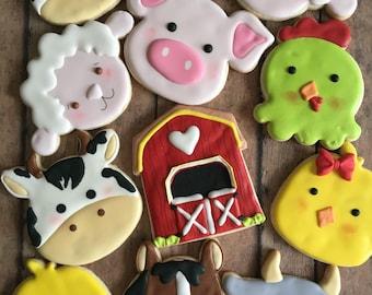 animal farm sugar cookies
