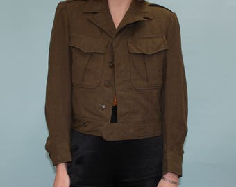 "WW2 Eisenhower Jacket aka ""Ike"" Coat"