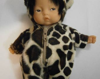 Panther romper for baby doll 20cm or mini corolla