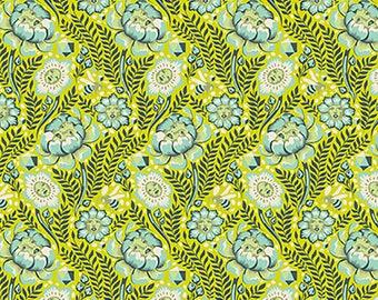 1/2 Yard - Spirit Animal - Petal Heads - Sunkiss - Tula Pink - FreeSpirit - Fabric Yardage - PWTP103.SUNKI