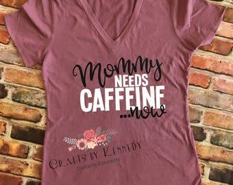 Mommy needs caffeine now / Mommy needs caffeine