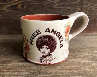 Angela Davis Mug