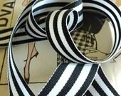 Black and White Striped R...