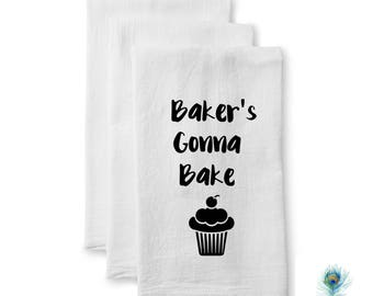 Flour Sack Towel - New Home Gift - Housewarming Gift - Kitchen Decor - Wedding Gift - Christmas Gift - Hostess Gift -Tea Towel -Hostess Gift