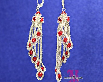 SparklingWaterfall Earrings Tutorial