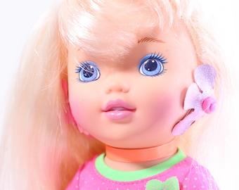 Vintage Hasbro 90s Twist N' Style Tiffany Doll, 1994 Twist N' Style Tiffany, Hasbro Tiffany Doll, Vintage 90s Doll, Vintage Lil Miss Doll