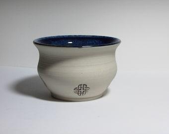 Celtic Knotwork Bowl-Blue