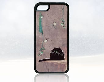 Cat iPhone 5c case, funny iPhone 5c cover, funny cat iPhone 5c case, nature iPhone 5c case, rubber iPhone 5c case, cute iPhone 5c cover